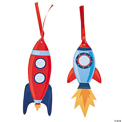 Space Rocket Bookmarks