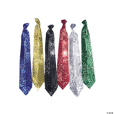 Sparkling Sequin Neckties