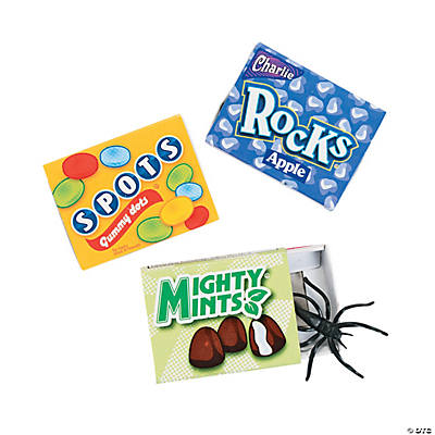 Spider in Candy Boxes