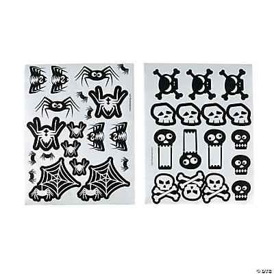 Spiders & Skulls Stickers