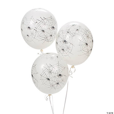 Spiders Latex Balloons
