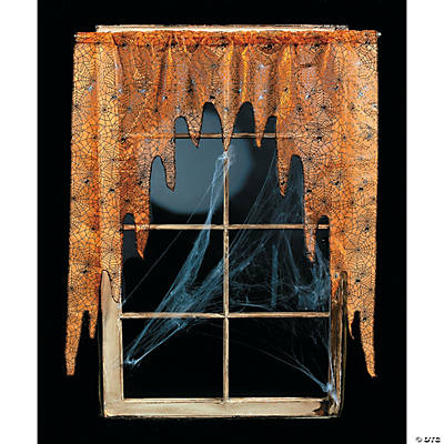 Spiderweb Door Or Window Valance