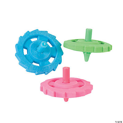 SPINNING TOP ERASERS