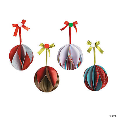 Spiral Christmas Ornament Craft Kit