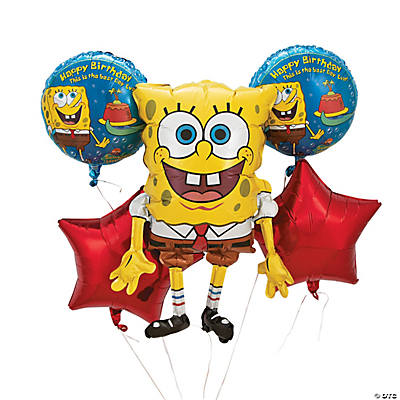 SpongeBob SquarePants™ Mylar Balloon Bouquet