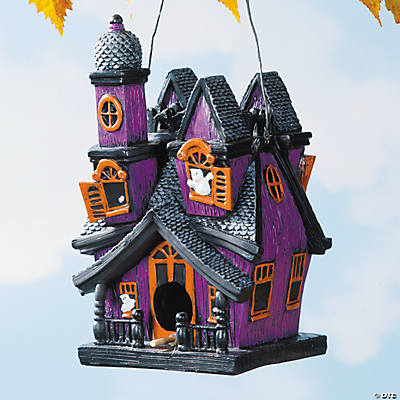 Spooky Haunted Birdhouse