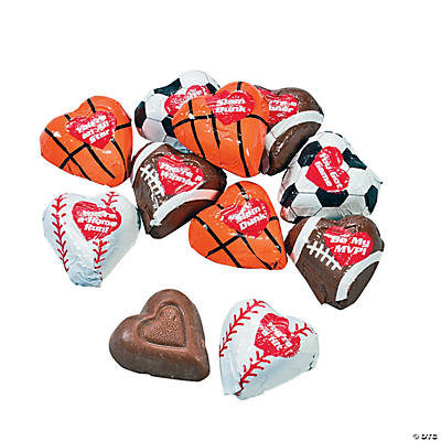 Sports Lovers Peanut Butter Hearts