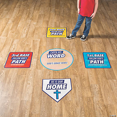 Sports VBS Bases Floor Clings