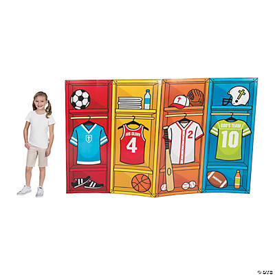 Sports VBS Locker Cardboard Stand-Ups
