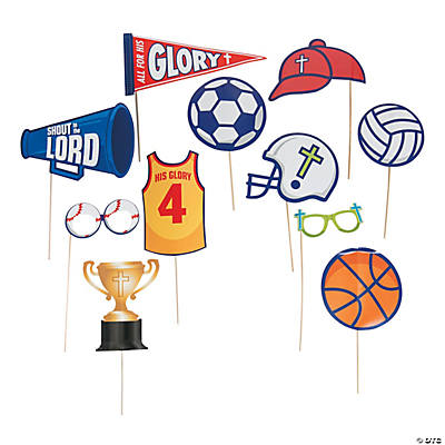 Sports VBS Photo Stick Props