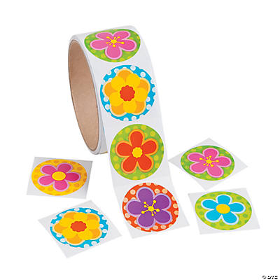 Spring Bright Flower Stickers