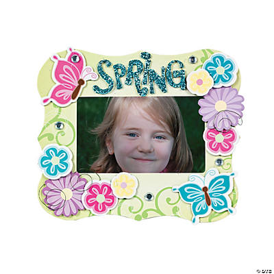 Spring Chipboard Frame Craft Kit
