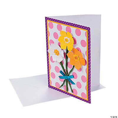 Spring Daffodil Card Craft Kit