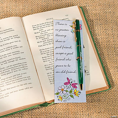 Spring Friend Pen & Bookmark Sets