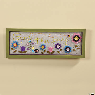 """Spring has Sprung"" Wall Hanging"