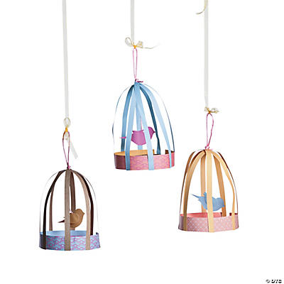 Spring Patterned Birdcages Kit