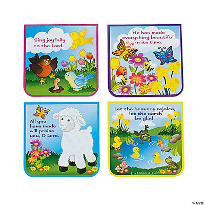 Spring Religious Lamb/Butterfly Notepads