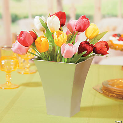 Spring Tulips Centerpiece