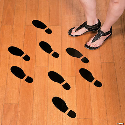 Spy Agents of Truth Footprint Floor Decals