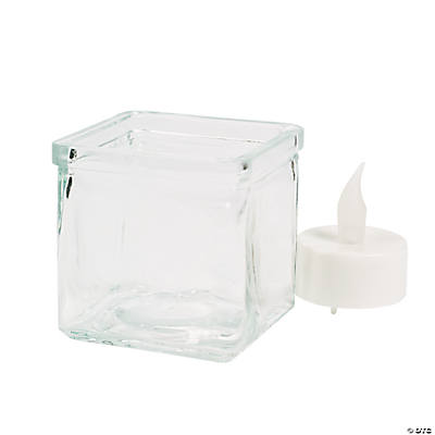 Square Candle Jars