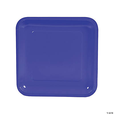 Square Dinner Plates - Purple