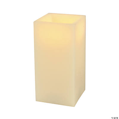 Square Flameless Candle