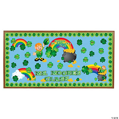 St. Patrick's Day Bulletin Board Set