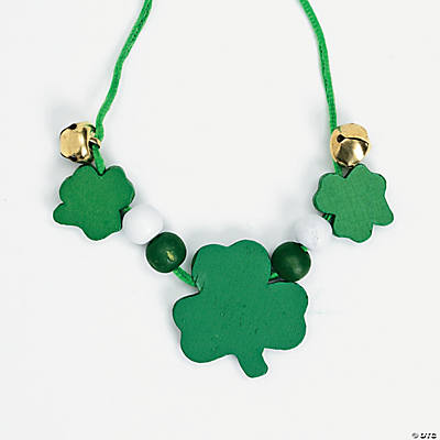 St. Patrick's Day Beaded Necklace Craft Kit