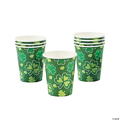 St. Patrick's Day Rainbow Paper Cups