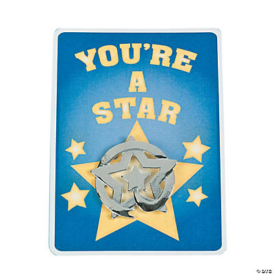Star Recognition Pins