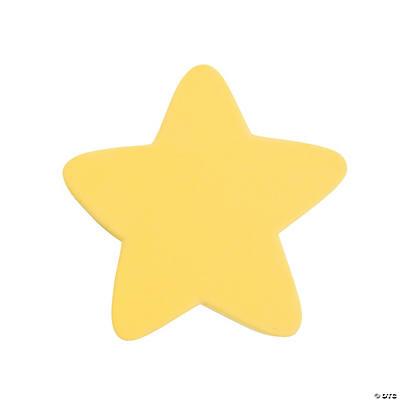 Star-Shaped Dry Erase Erasers