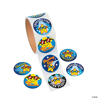 """Star Student"" Roll of Stickers"