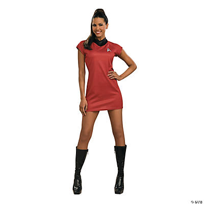 Star Trek Movie Red Dress Costume for Women