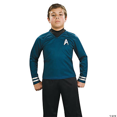 Star Trek Uniform Deluxe Blue Costume for Boys