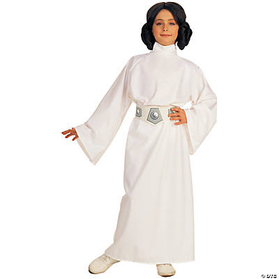 Star Wars Princess Leia Costume Deluxe for Girls