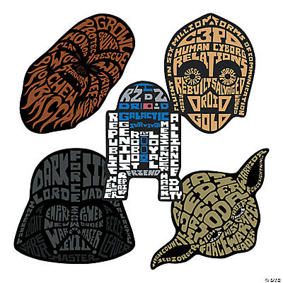 Star Wars™ Shaped Stickers