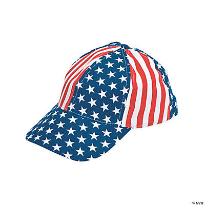 Stars & Stripes Baseball Caps