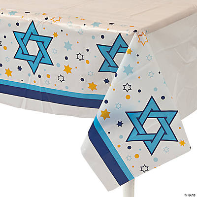 Stars Of Hanukkah Table Cover