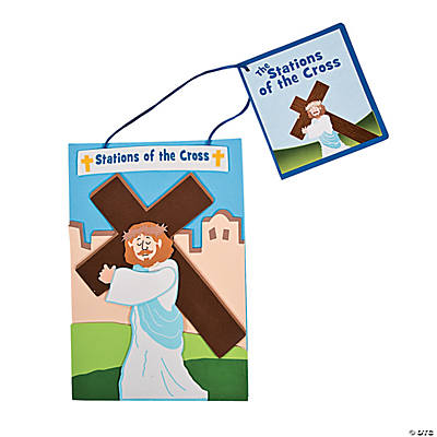 """Stations of the Cross"" Sign Craft Kit"