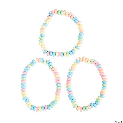 Stretchable Hard Candy Necklaces