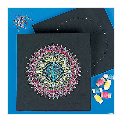 string art craft kit oriental trading discontinued
