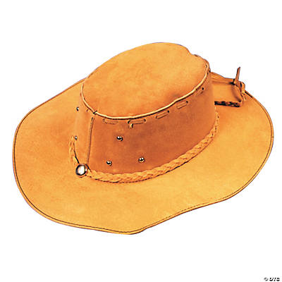 Suede Cowboy Hat Boy's Costume