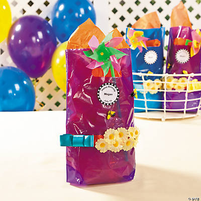 Summer Daisy Treat Bags