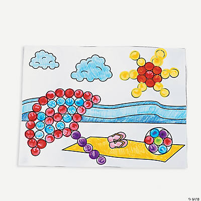 Summer Dot Marker Activity Sheets