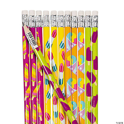 Summer Treats Pencils