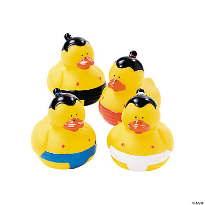 Sumo Rubber Duckies
