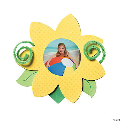 Sunflower Picture Frame Magnet Craft Kit