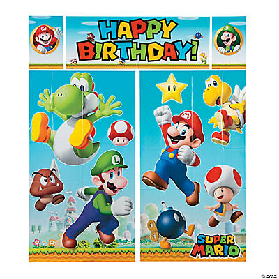 Super Mario Party Supplies Decorations Oriental Trading Company