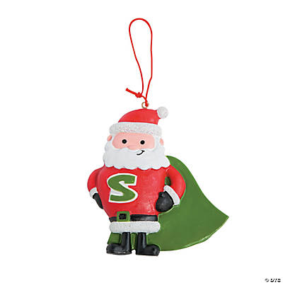 Super Santa Ornaments