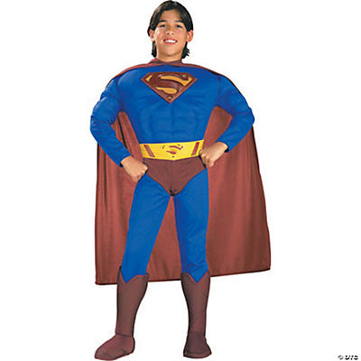 Superman Muscle Chest Costume for Toddler Boys